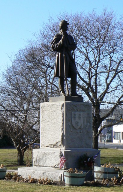 Soldiers Monument, Batterson and Concrads, 1877, Manchester, CT.