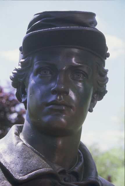 Soldiers Monument, Charles Conrads, 1877, Manchester, CT.