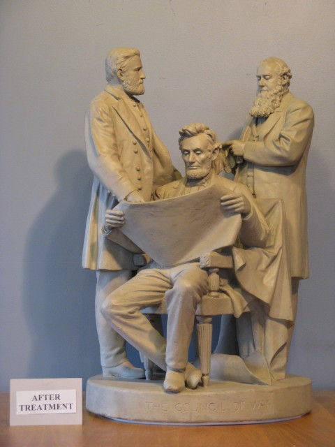 The Council of War, John, Rogers, 19th Century, New Caanan Historical Society, CT.
