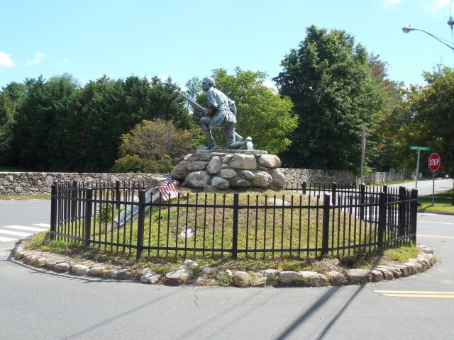 1.1.4 Minute Man Monument, Daniel. A. Webster, 1910, Westport, CT. Site before planning.