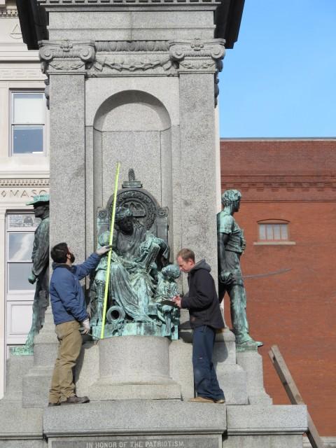 1.3.7 Soldiers Monument, George Bissell, 1884, Waterbury, CT.