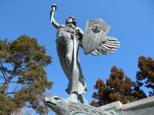 1.3.8 Spirit of Victory, Evelyn Beatrice Longman, 1926, Hartford, CT.