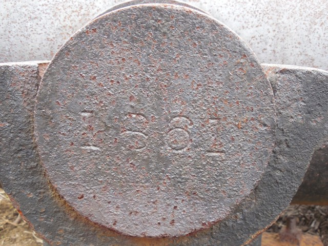 3.1.14 30lb Parrott Rifle, #32, 1861, Derby CT. Detail of the 4,200 pound iron cannon cast at West Point Foundry, NY.