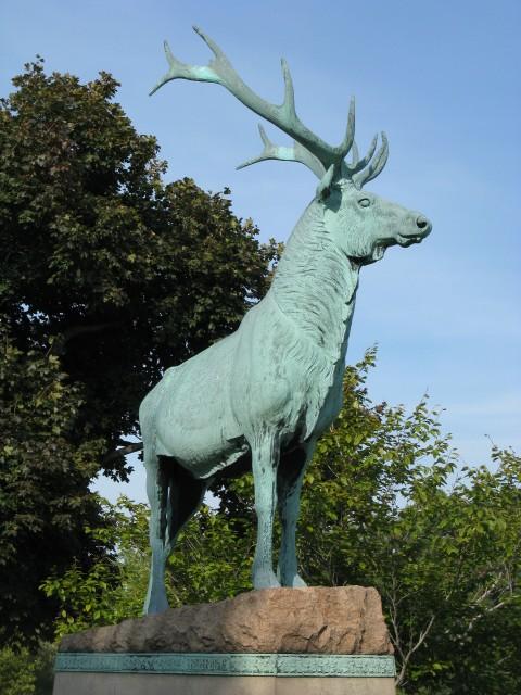 6.1.27 Elks Rest Memorial, Eugene Moraham, 1914,  Forest Lawn Cemetery, Buffalo, NY.