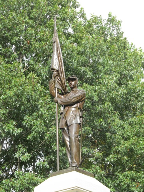 6.1.32 Civil War Memorial, Launt Thompson, 1872, Pittsfield, MA.
