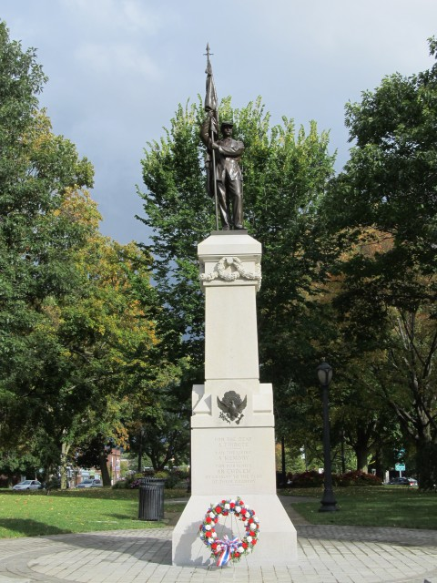6.2.12 Civil War Memorial, Launt Thompson, 1872, Pittsfield, MA.