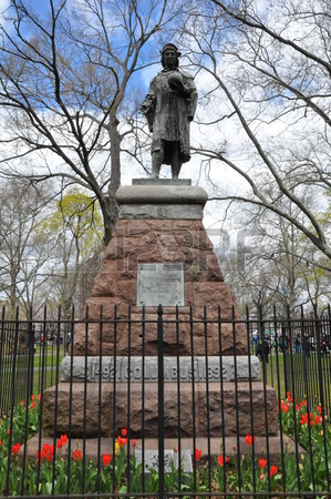 6.2.19 Christopher Columbus, 1892, Wooster Square, New Haven, CT.