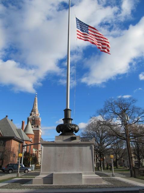 6.2.22 WWI Memorial, Evelyn Beatrice Longman, 1921, Naugatuck, CT.