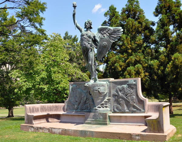 6.2.24 Spirit of Victory, WWI Monument, Evelyn Beatrice Longman, 1926, Hartford, CT.