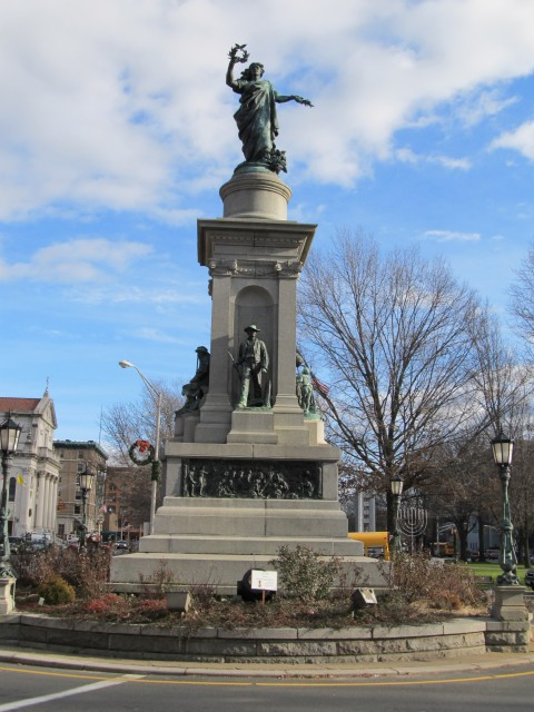 1.6.8 Soldiers Monument, George Bissell, 1884, Waterbury, CT.