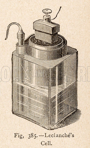 Leclanche Electric Cell